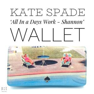 Kate Spade 'All In a Days Work - Shannon' Wallet
